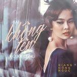 bai khong ten cuoi cung (single) - giang hong ngoc