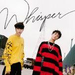 whisper (mini album) - vixx lr