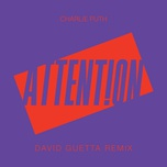 attention (david guetta remix) (single) - charlie puth