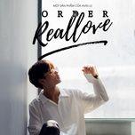 order real love (single) - avin lu