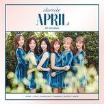 eternity (4th mini album) - april