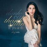 Dành Cả Thanh Xuân Để Yêu Ai Đó (Single)