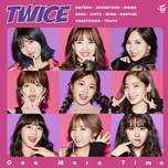 one more time (japanese single) - twice