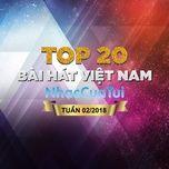 BXH Bài Hát Việt Nam Tuần 02/2018 - V.A