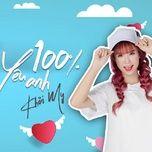 100% Yêu Anh (Single)