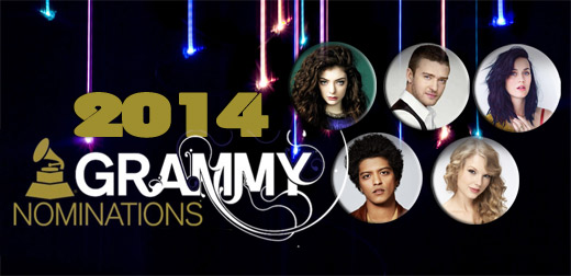 Grammy 2014 Nominations