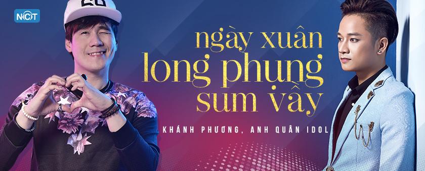 ngay xuan long phung sum vay - khanh phuong, anh quan idol