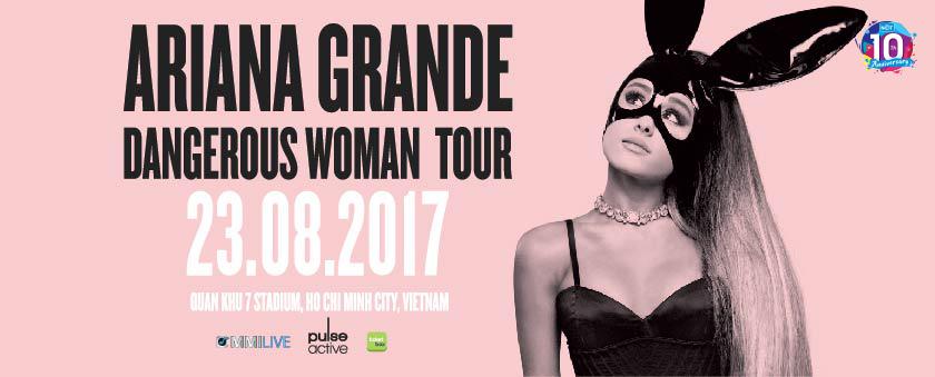 dangerous woman tour - ariana grande