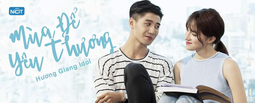 mua de yeu thuong - huong giang idol